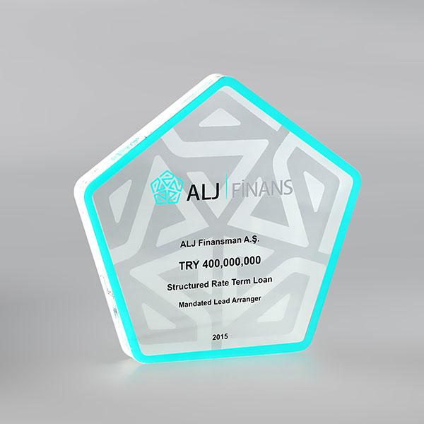 Pleksi Plaket – ALJ Finans