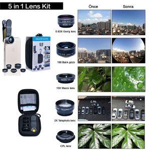 Promosyon Micro Lens Seti TU17023