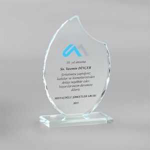 Kristal Plaket PL17010